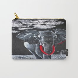 Blood Ivory Carry-All Pouch