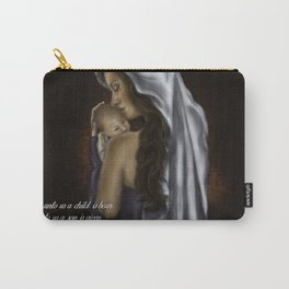 Mary and Jesus by Hailey Scott Carry-All Pouch