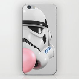 Stormtrooper Bubble Gum 02 iPhone Skin