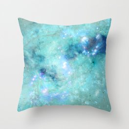Abstract Galaxies 4 Throw Pillow