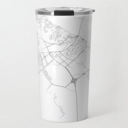 Minimal City Maps - Map Of Mozyr, Belarus. Travel Mug