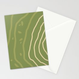 Mountain Contour III Stationery Cards
