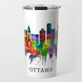 Ottawa Canada Skyline Travel Mug