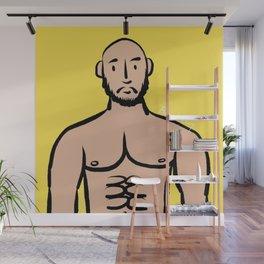 Beard Boy: Isreal Wall Mural