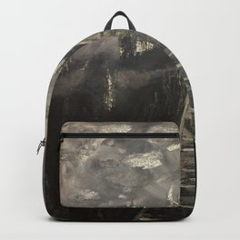 Moonlit tracks Backpack