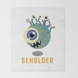 Beholder! Throw Blanket