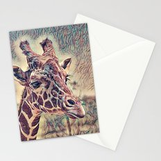Impressive Animal - Giraffe Stationery Cards