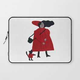 Red jacket Laptop Sleeve