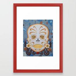 Sugar Skull #15 Framed Art Print