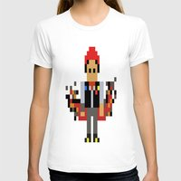 infamous T-shirts featuring Pixel Delsin Rowe (infamous) by 8 BITE