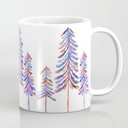 Pine Trees – 90s Color Palette Coffee Mug