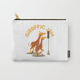 Giraffic Jam Traffic Pun Carry-All Pouch