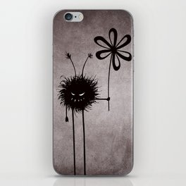 Evil Flower Bug iPhone Skin