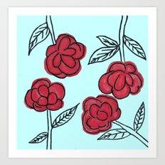 Poppyish Art Print