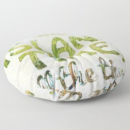 Island Time Floor Pillow