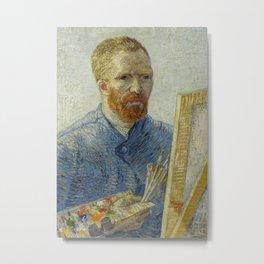 Self Portrait as a Painter Metal Print
