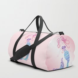 Tribal Mermaid Duffle Bag