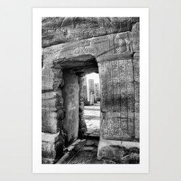 Temple of Kom Ombo, Egypt Art Print