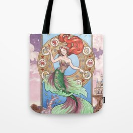 Every Girl Is A Princes 01: Andersen's The Little Mermaid Tote Bag