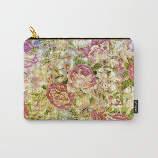 multifloral Carry-All Pouch