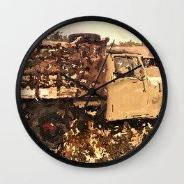 Truck Love Wall Clock