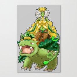 No. 3 Humanoid Mega Venu-saur Canvas Print
