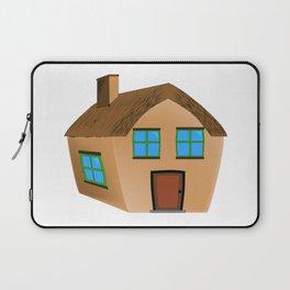 Cartoon Home Laptop Sleeve