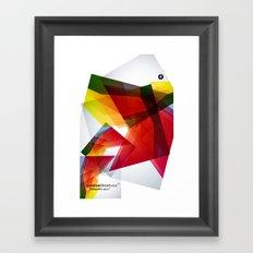 Abstrakt Framed Art Print