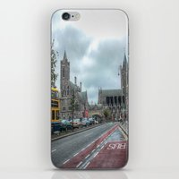 dublin iPhone & iPod Skins featuring Dublin by Christine Workman