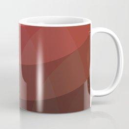 Le Rouge-Orangé (ses diverses nuances combinées avec le noir) Remake (Interpretation), no text Coffee Mug