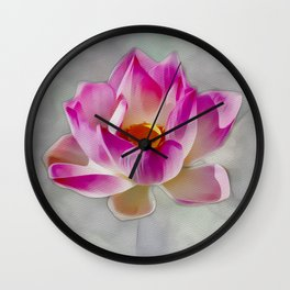 Sun Worship - Beautiful Flower Wall Clock