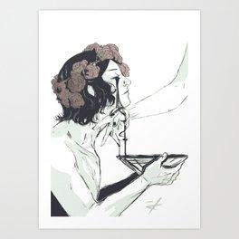 Act of Devotion Art Print