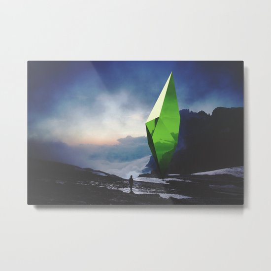 Inconsequential Logic Metal Print