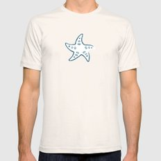 Starfish Mens Fitted Tee SMALL Natural