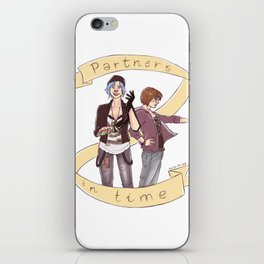 pricefield partners in time iPhone Skin