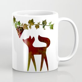 The fox and the grapes Coffee Mug