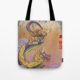 Lady Rainicorn Tote Bag