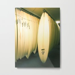 Surf Co Metal Print
