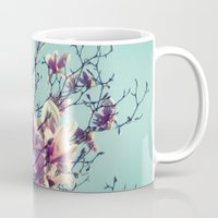vintage flowers Mugs featuring Vintage Flowers by ALP-Fotografie