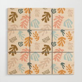 Seaweeds and sand Wood Wall Art