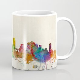 Milwaukee Wisconsin Skyline Cityscape Coffee Mug