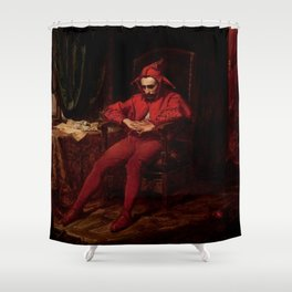 "Jan Matejko ""Stańczyk"" Shower Curtain"