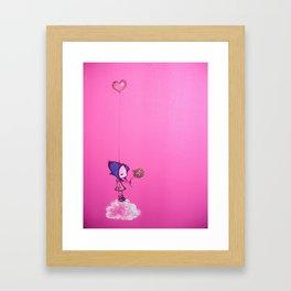 A Piece of my Heart. Framed Art Print