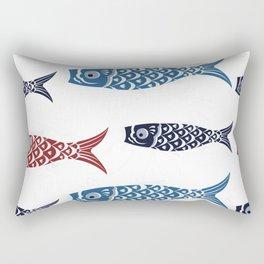 Japanese traditional lanterns Rectangular Pillow