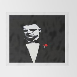 The Godfather: Vito Corleone Throw Blanket