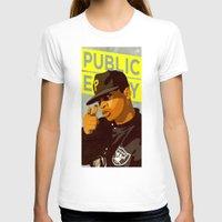 chuck T-shirts featuring Chuck D by Kim Hoffnagle