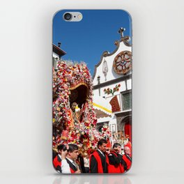 Religious festival in Azores iPhone Skin
