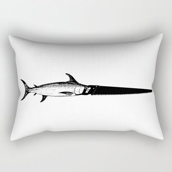 Sawfish Rectangular Pillow