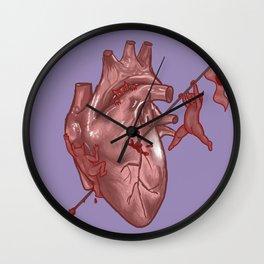 Pandemonium of the Heart Wall Clock