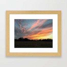 Phoenix Sky Framed Art Print